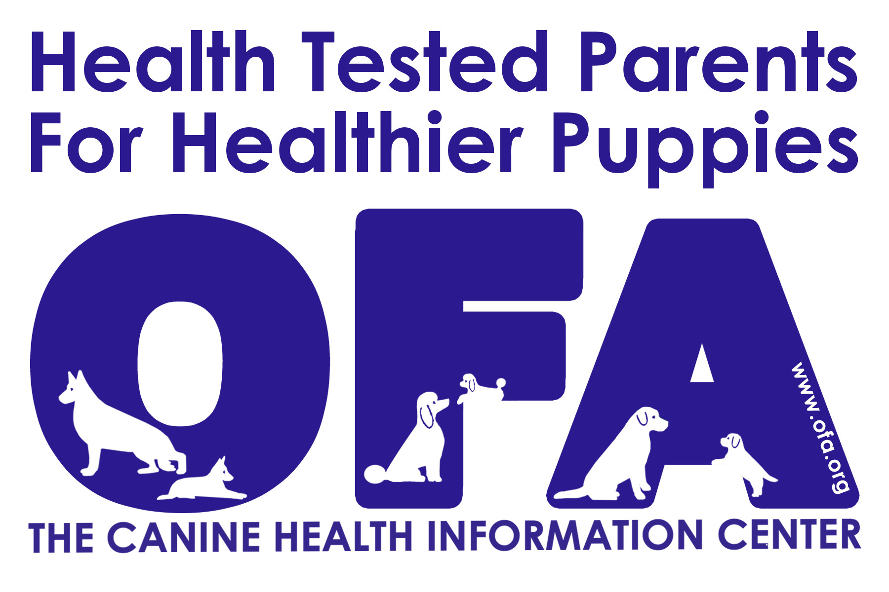 The Canine Health Information Center logo