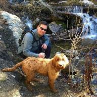 Murphy likes hiking!